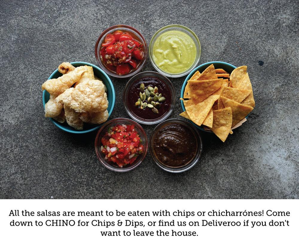 CHINO HK Salsa Guide - www.chinohk.com