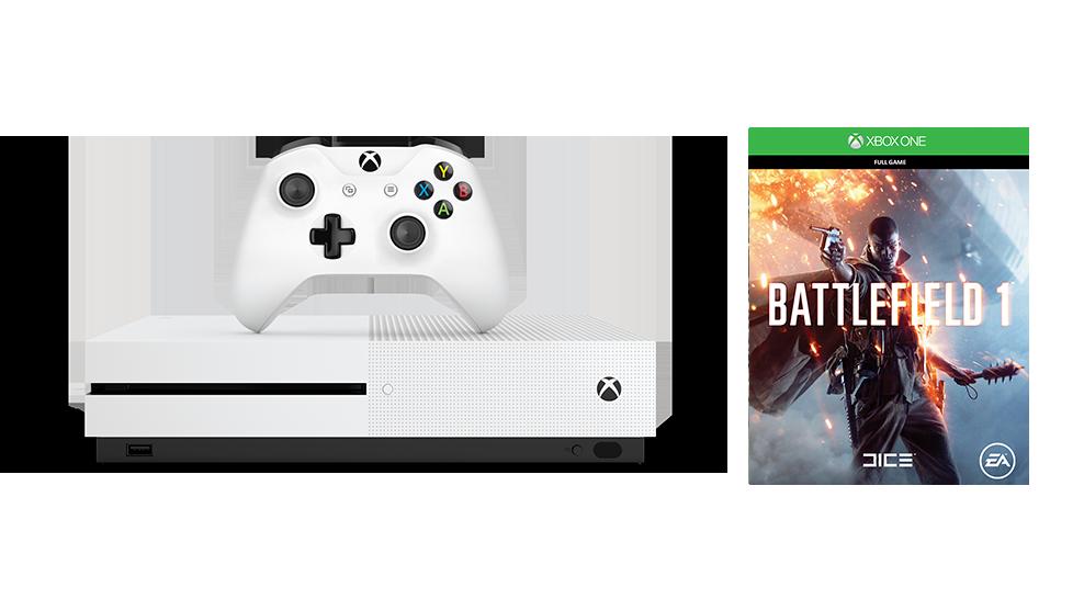 Xbox One S Battlefield 1 Special Edition — Heavyshelf