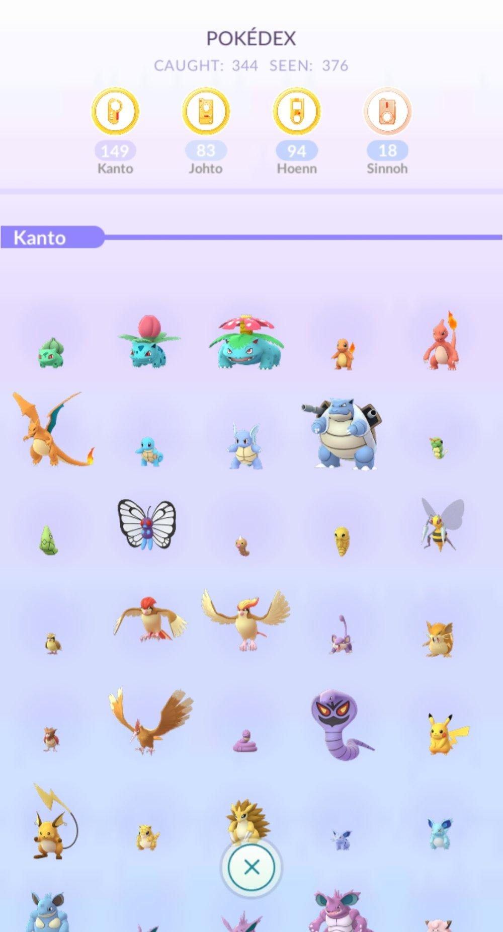 I still haven't caught them all…