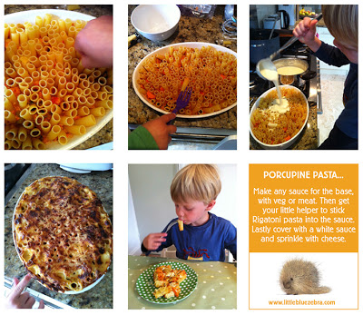 Ideas for cooking with children