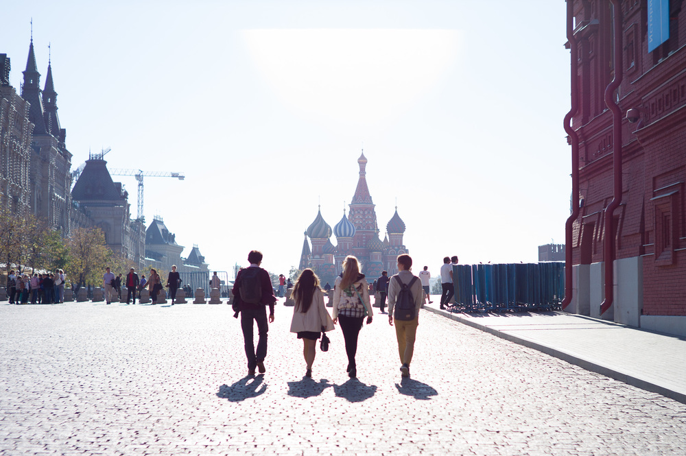 Red Square and Saint Basil's Moscow, Russia