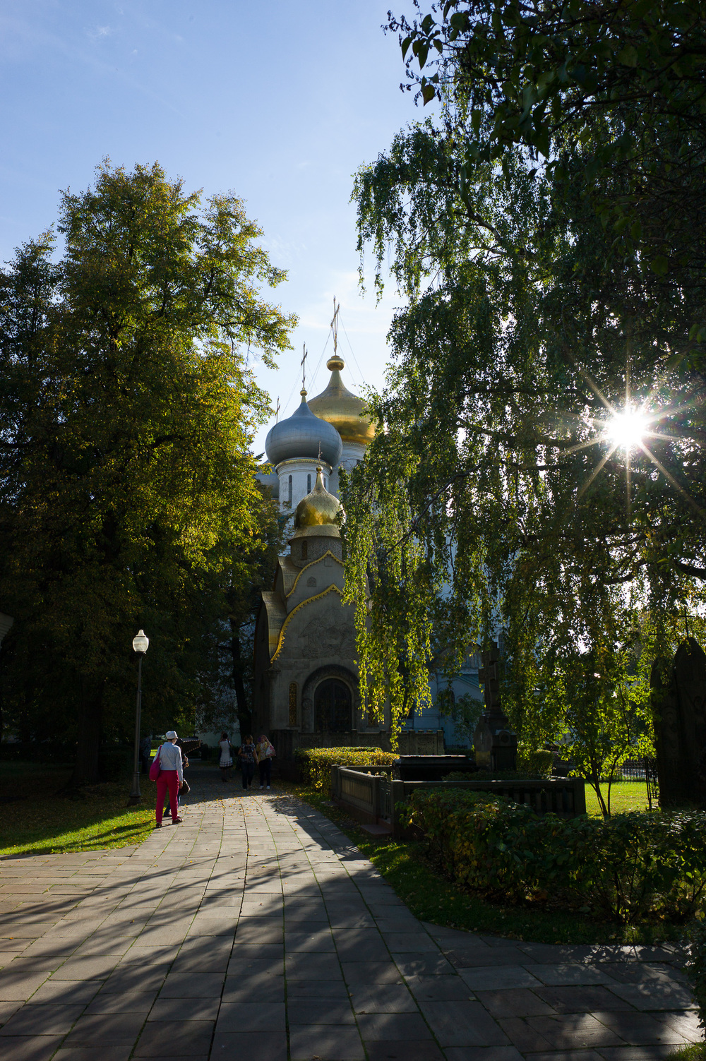 Novodevichy Cemetery  Moscow, Russia