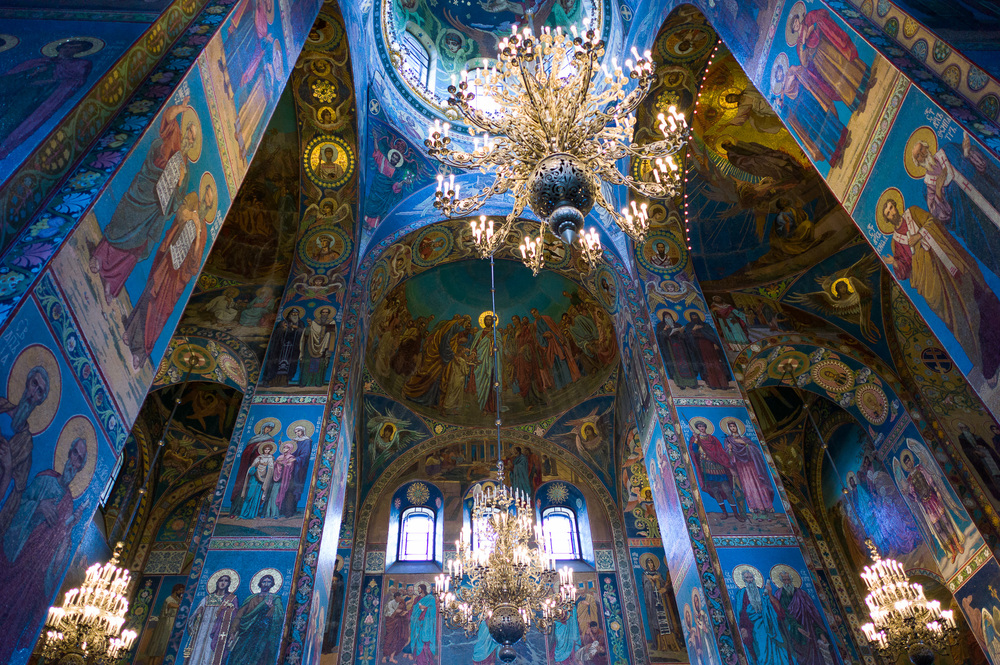 Church of Savior on the Spilled Blood Saint Petersburg, Russia