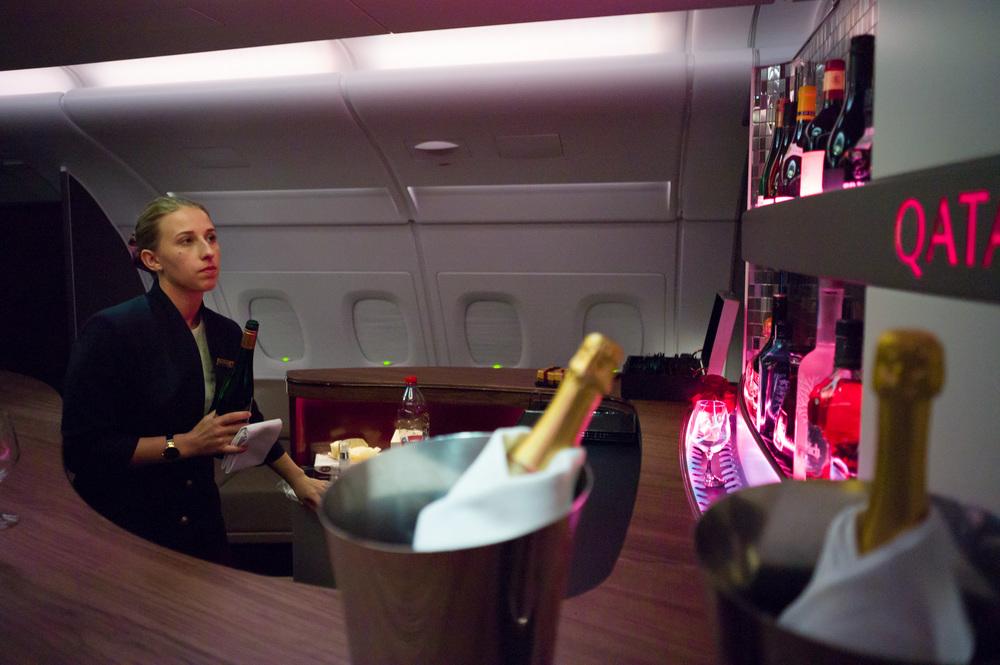Sky Bar, Qatar Airways