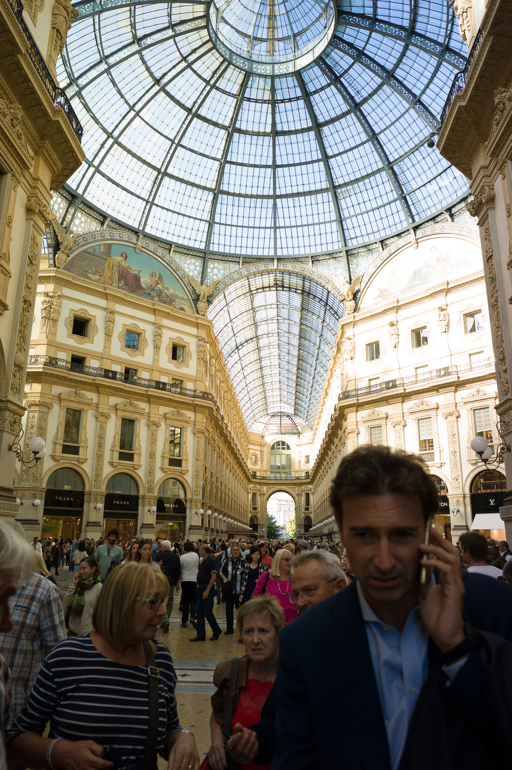 Galleria vittorio emanuele ii, Milan, Italy