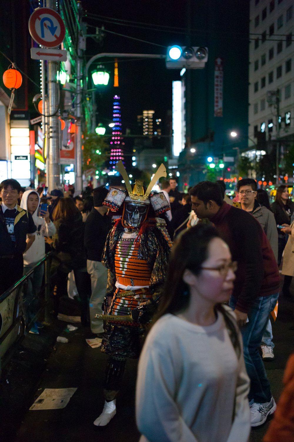 Roppongi Halloween, Tokyo, Japan Leica M-E Leica Summicron 35/2 ASPH