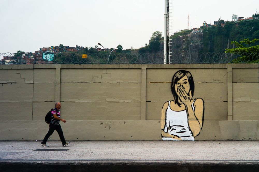 Street Art, Rio de Janeiro, Brazil