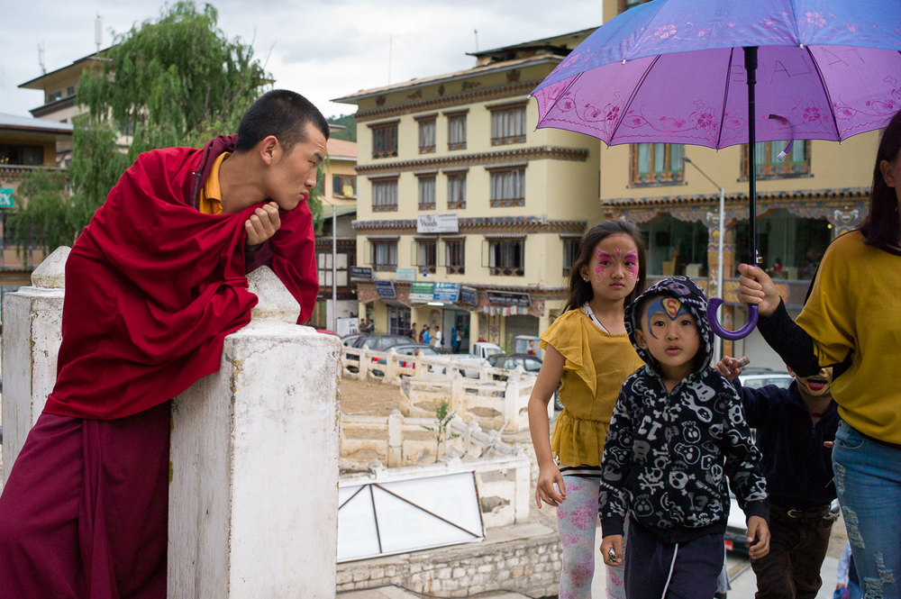 Thimphu Street photograpy
