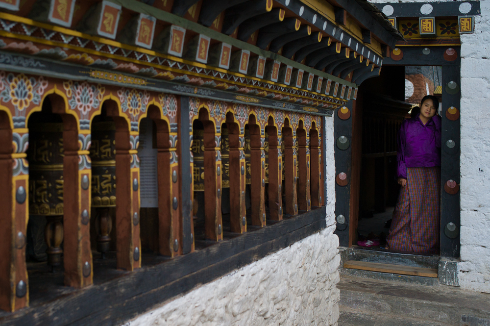 Temple, Thimphu