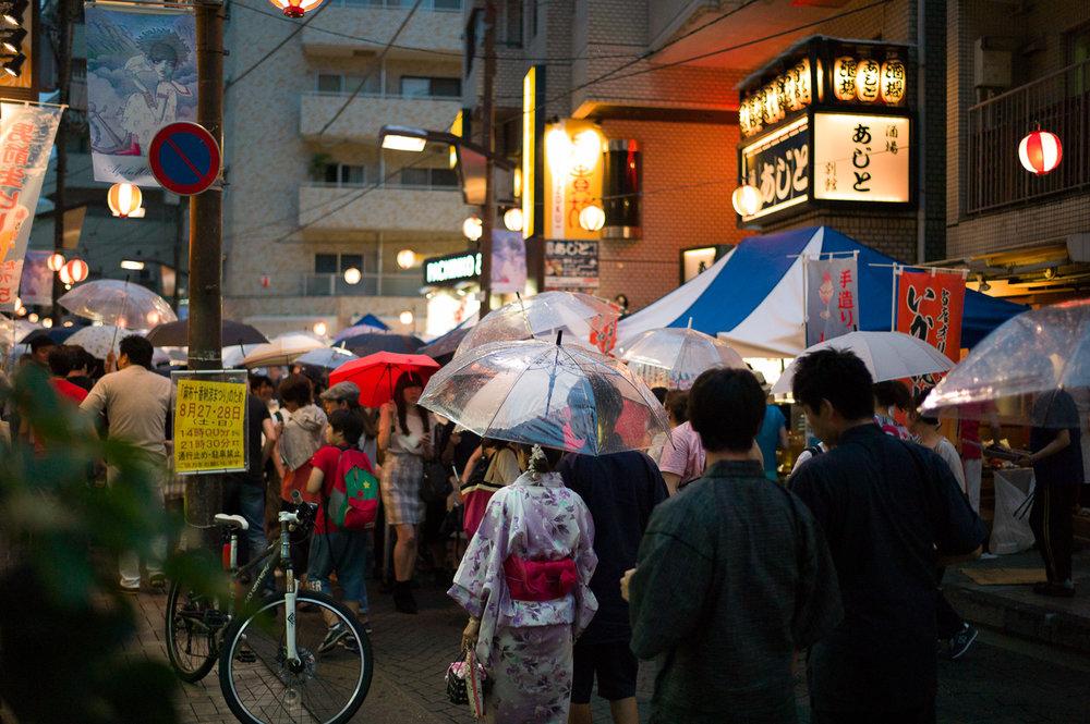 Charming neighbourhood, Azabu Juban Festival, Tokyo