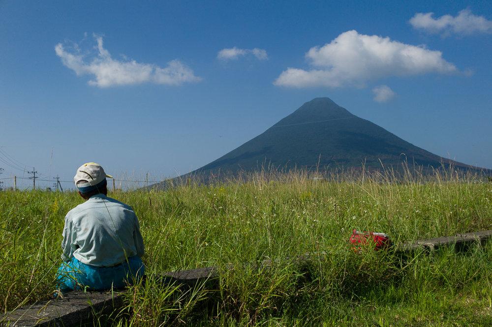 Mount Kaimondake, Satsuma Peninsula, Kagoshima