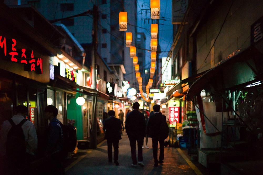 Seochon Nightlife