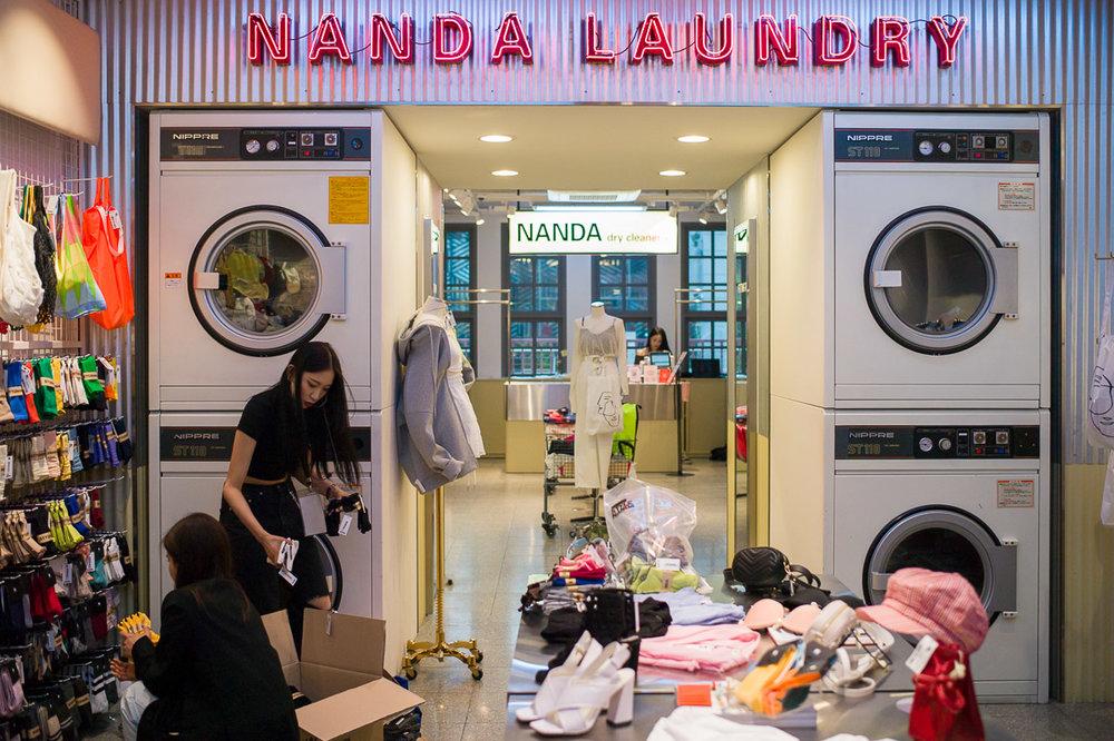 Nanda Laundry, Myeong-Dong 2018