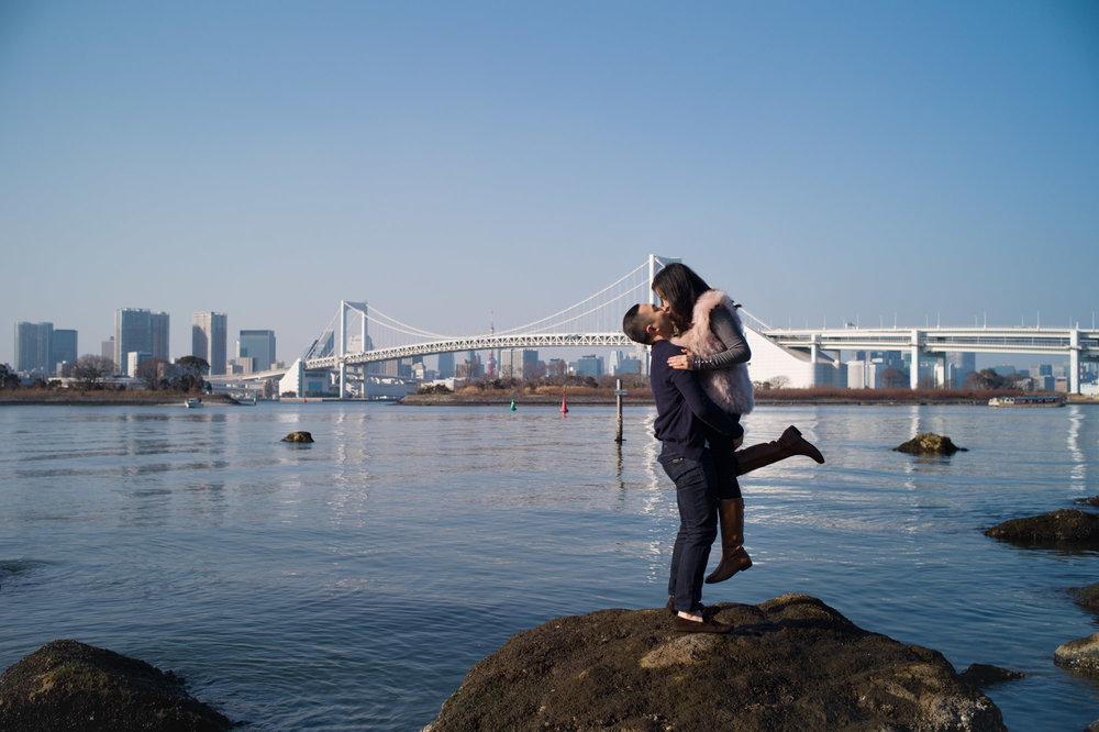 Tokyo Surprise Proposal, Odaiba
