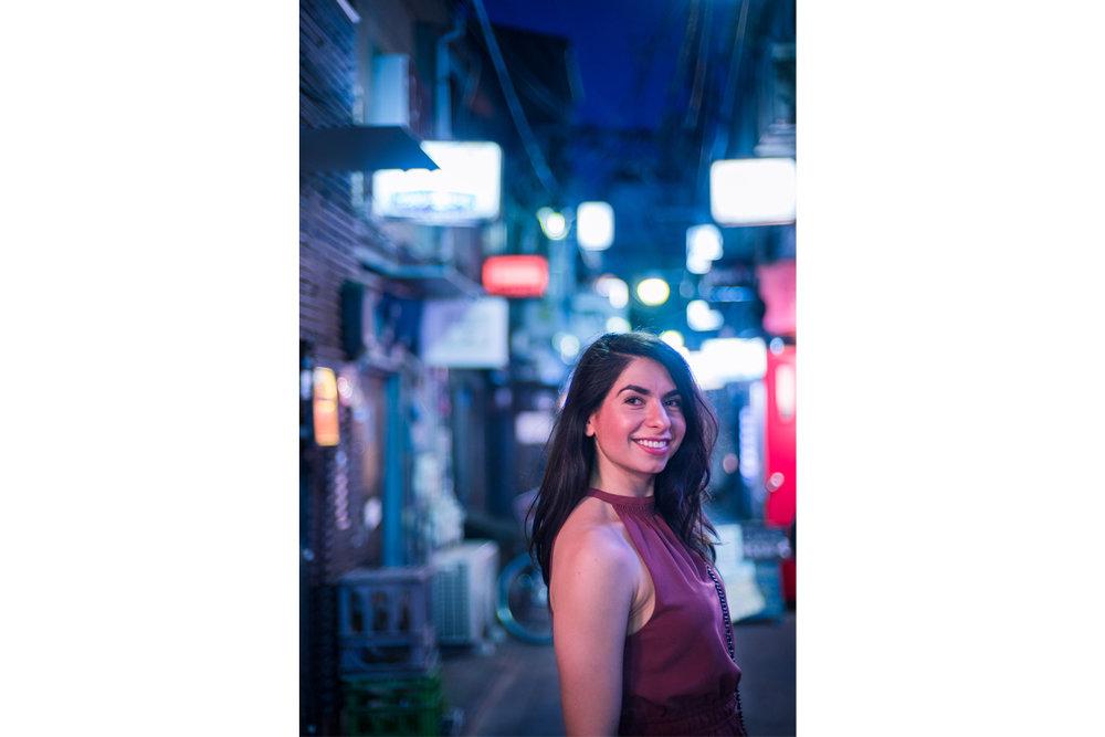Helena Portrait, Shinjuku