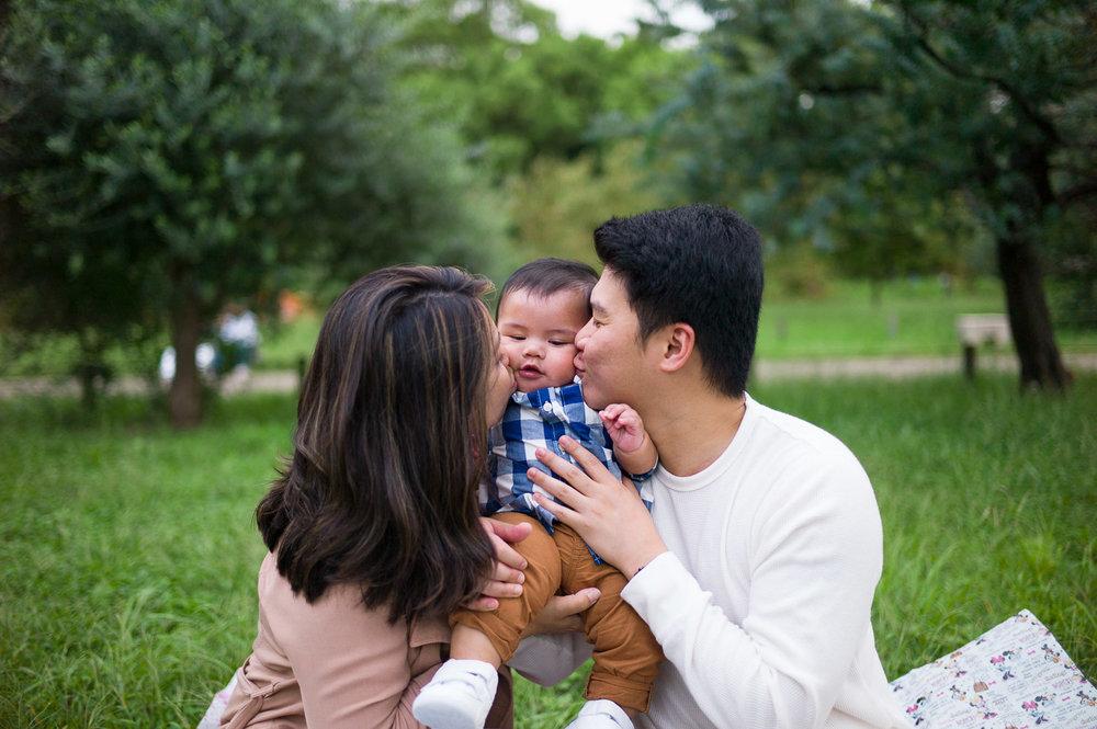 Family Photographer Tokyo, Yoyogi Park