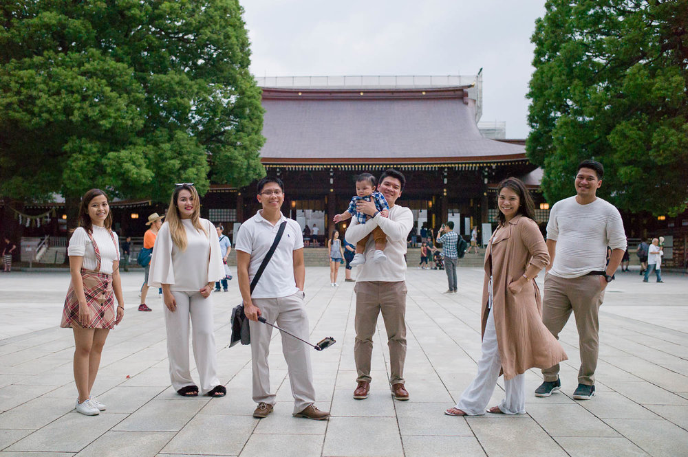 Meiji Shrine Family Photography