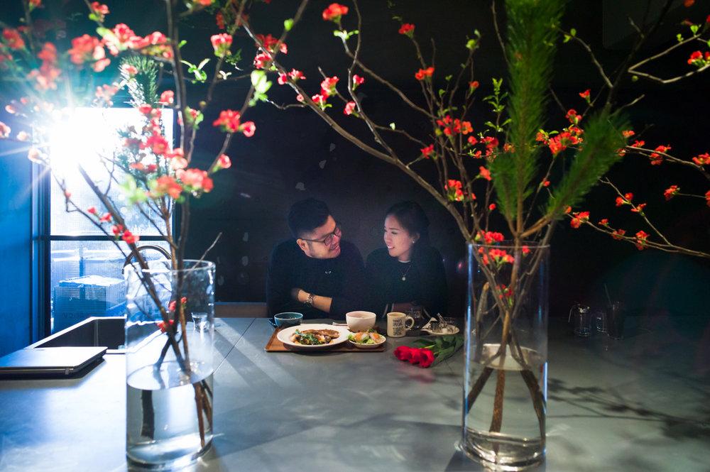 Tokyo Engagement Photographer Jiyugaoka cafejpg