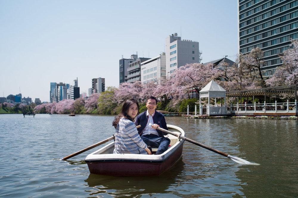 Tokyo Pre Wedding Photographer Cherry Blossom in Kagurazaka.jpg