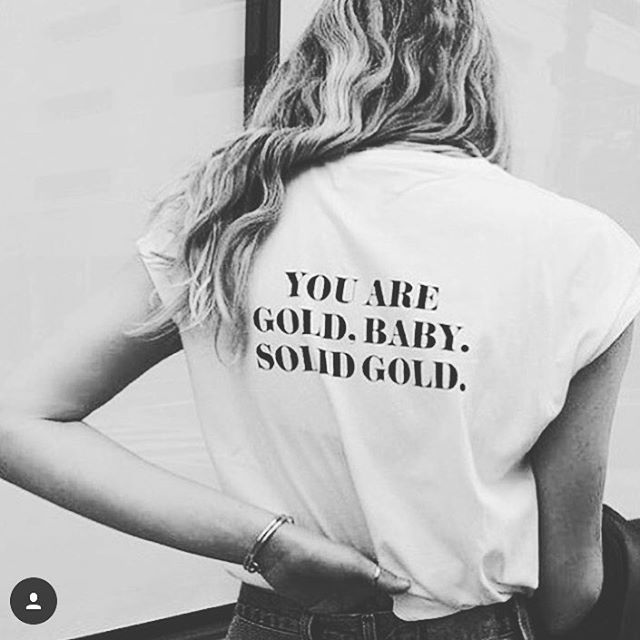 • You are Gold • Baby • Like our Jewels • 💎Shop luxe jewelry @ www.laurenreine.com 💎 Link in Bio #gold #solidgold #bae #jewelry #jewelrydesigner #jewellery