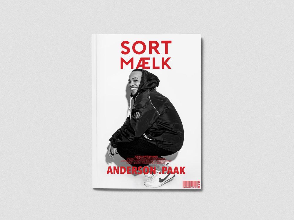 Sort Mælk nr. 6 - Det sidste trykte magasin som Sort Mælk lavede i Februar 2016