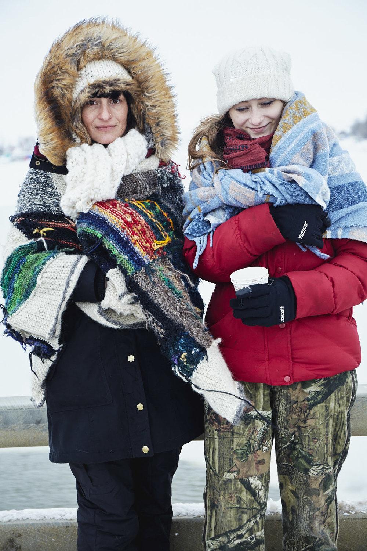 Courtney and Amber McCornack, from Albert Lea, Minnesota