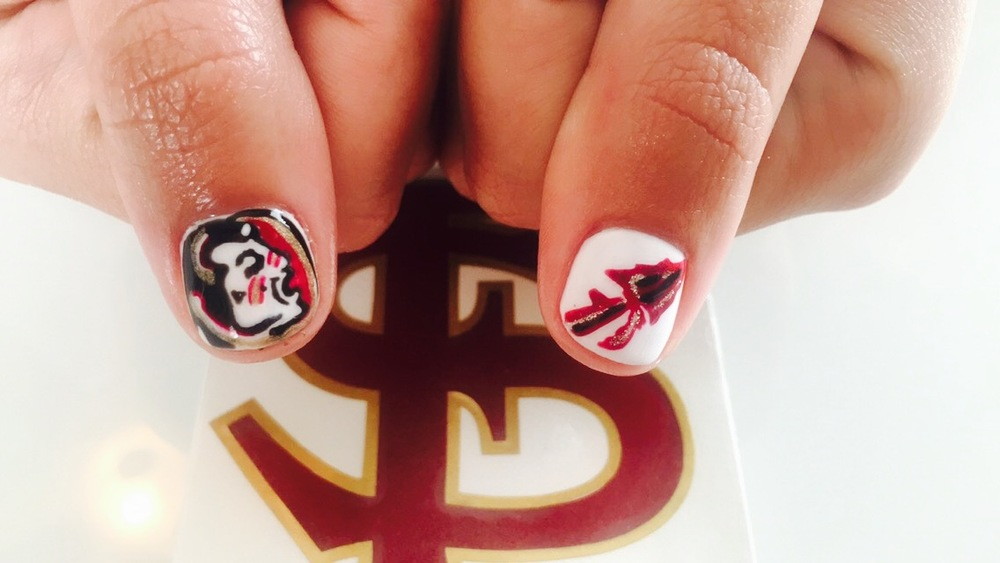 Florida State Nail Art | Nail Art: A Sit Down with Nail Artist Janean Johnson Nails | Shotgunning for Love Letters