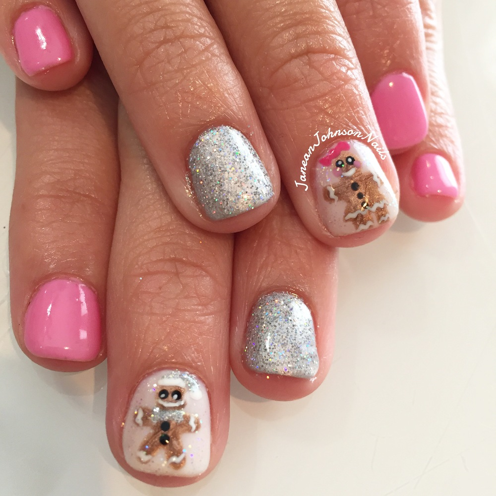 Christmas Nail Art | Nail Art: A Sit Down with Nail Artist Janean Johnson Nails | Shotgunning for Love Letters