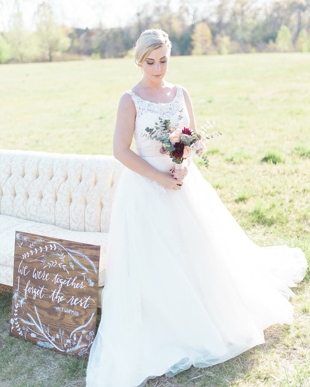 Vendors: 1783 Photography, Kerry + Felicia, Les Fleurs, Love and Lace Bridal Boutique, and Shotgunning for Love Letters (me).
