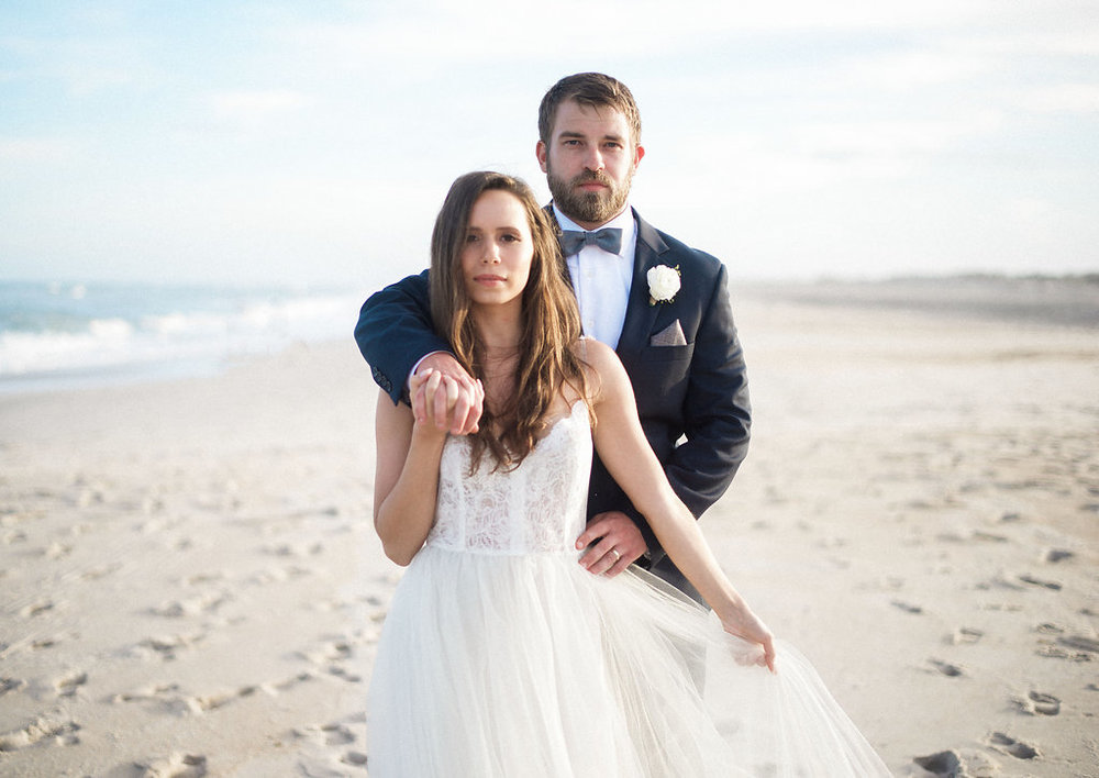 Maryland Beach Wedding Inspiration With Wild Horses | Shotgunning for Love Letters