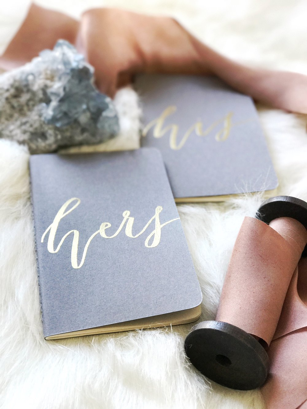 5 Tips for Writing Your Own Wedding Vows | Get your own set of vow books in the Etsy Shop.