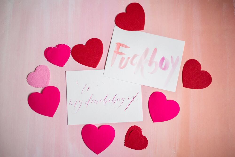 Valentine's Day Fun: Galentine's Day in Baltimore | Shotgunning for Love Letters - Fuckboy
