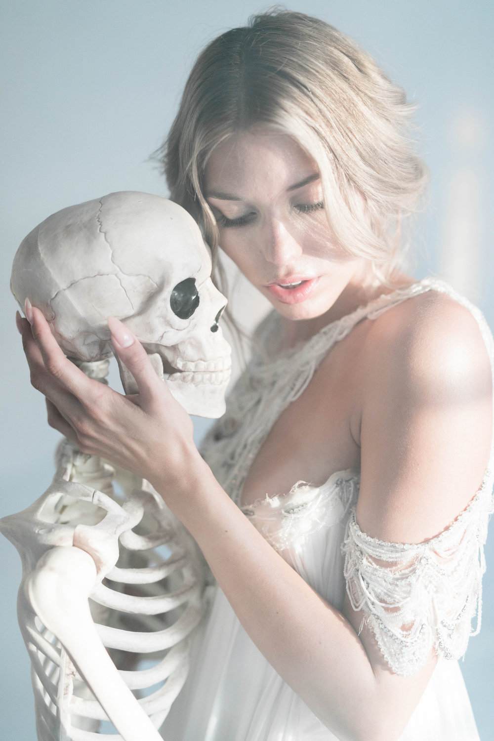 Eternal Love: A Beautiful Tragedy Halloween Editorial Featured on Once Wed