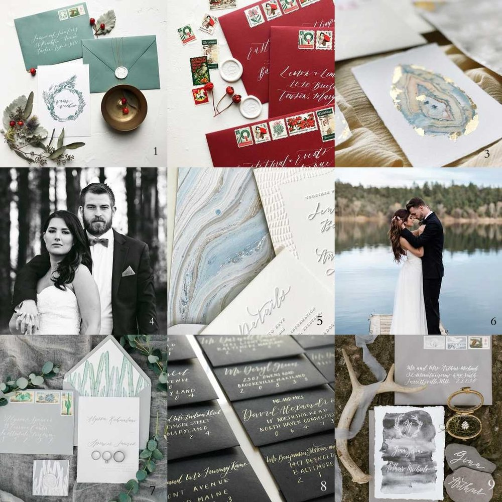 Best Nine 2017 Instagram | Shotgunning for Love Letters Calligraphy