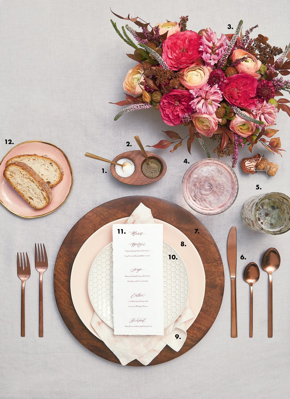Two ways to set a table | Washingtonian Magazine