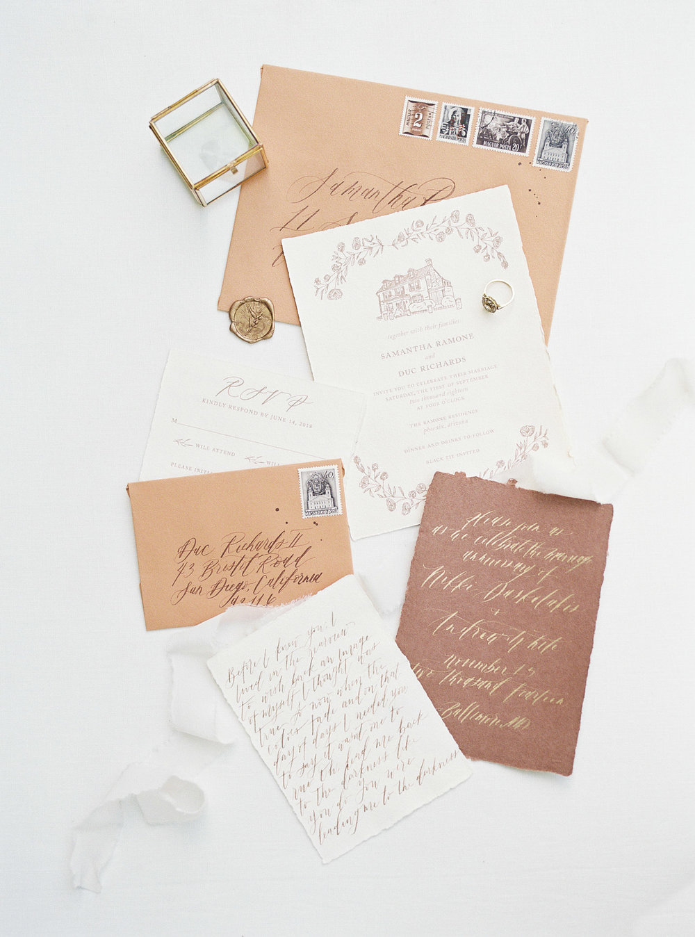 French Countryside Wedding Inspo | Shotgunning for Love Letters Calligraphy and Invitations