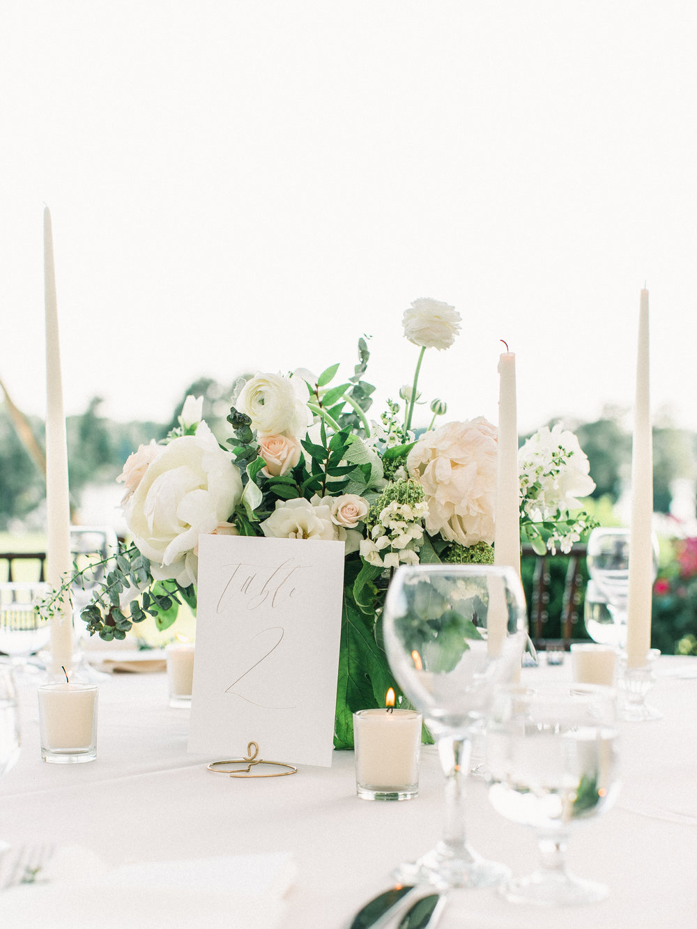 Wedding Table Numbers | Shotgunning for Love Letters