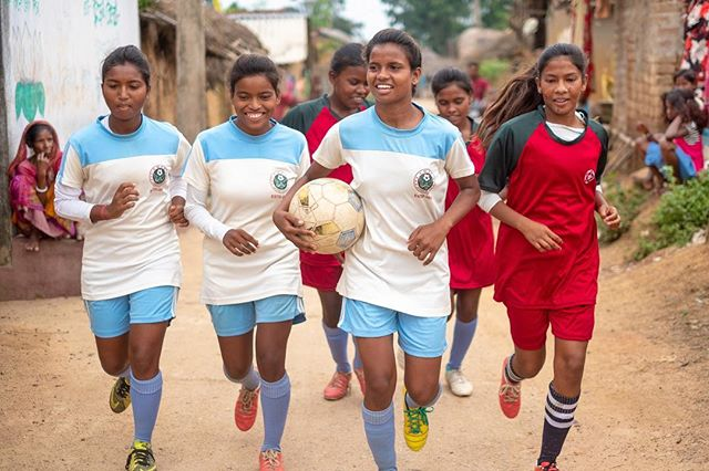 Really proud to see two films of mine go live for International Day of the Girl. It was a privilege to meet Shila in West Bengal, who was repeatedly told that she must not play football because it's a boys game. Undeterred, she convinced other girls in her village to join her and to date she has inspired dozens of girls in her local area to take up football and show that they can play at least as well as boys. #internationaldayofthegirl #dayofthegirl #dayofthegirl2018 #india #youtube #unicef