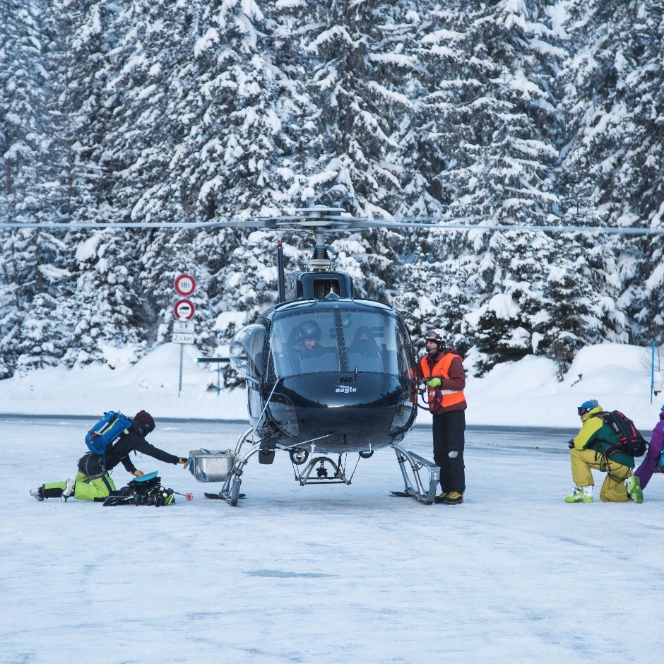 HELI SKI FOR A DAY FROM GENEVA OR ZURICH -