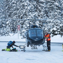 Heli ski from London