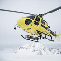 Heli ski for a day