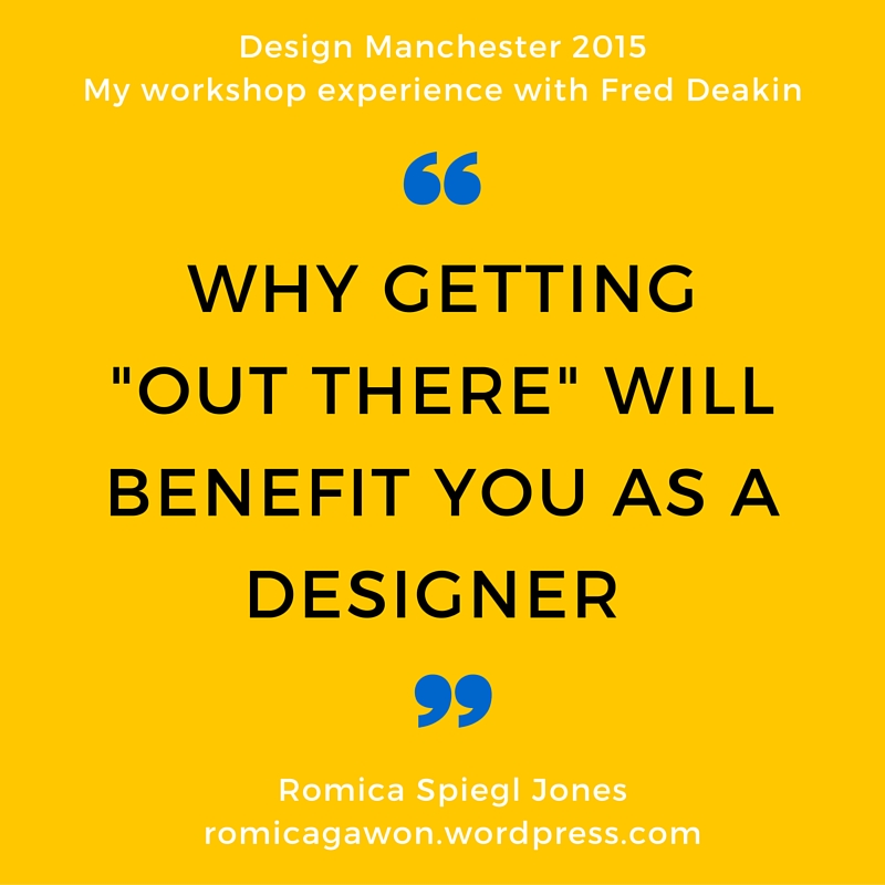 design manchester 15, workshop fred deakin