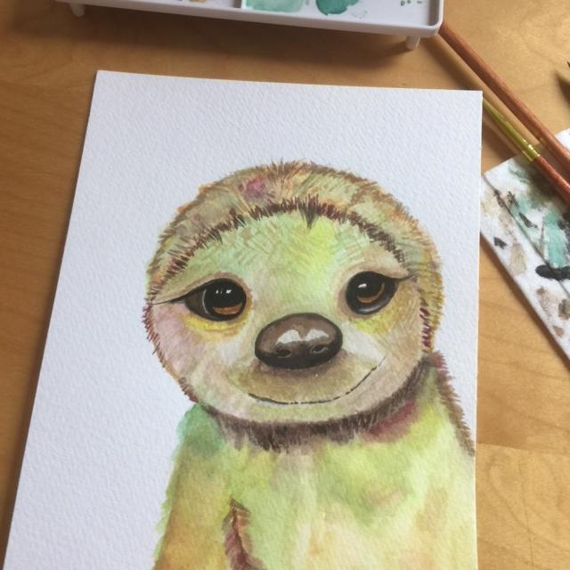 Sloth ... by Michelle T.
