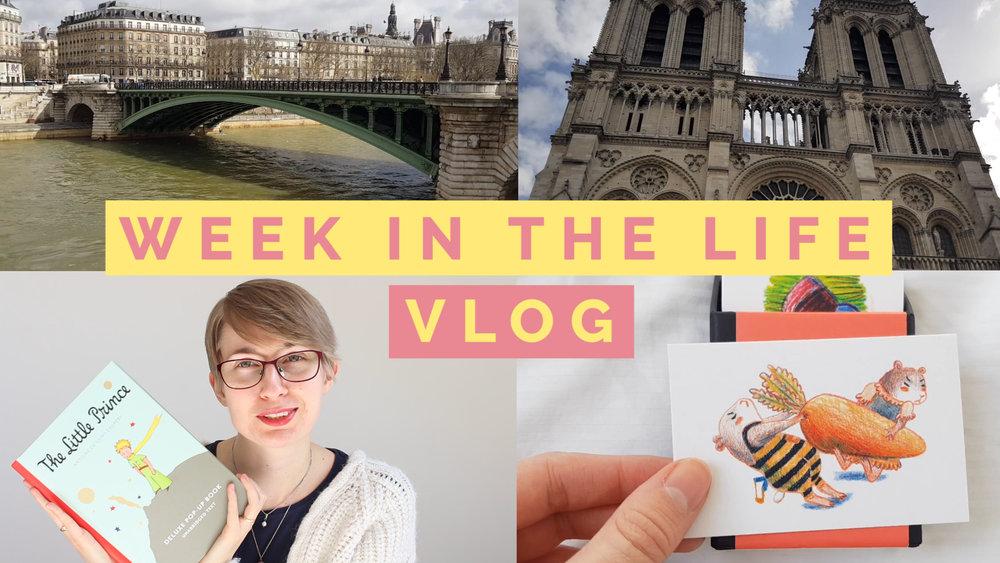 Paris Vlog, public speaking, little prince shop and my business ...