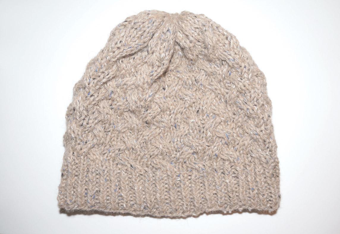 bonnet tweed seul