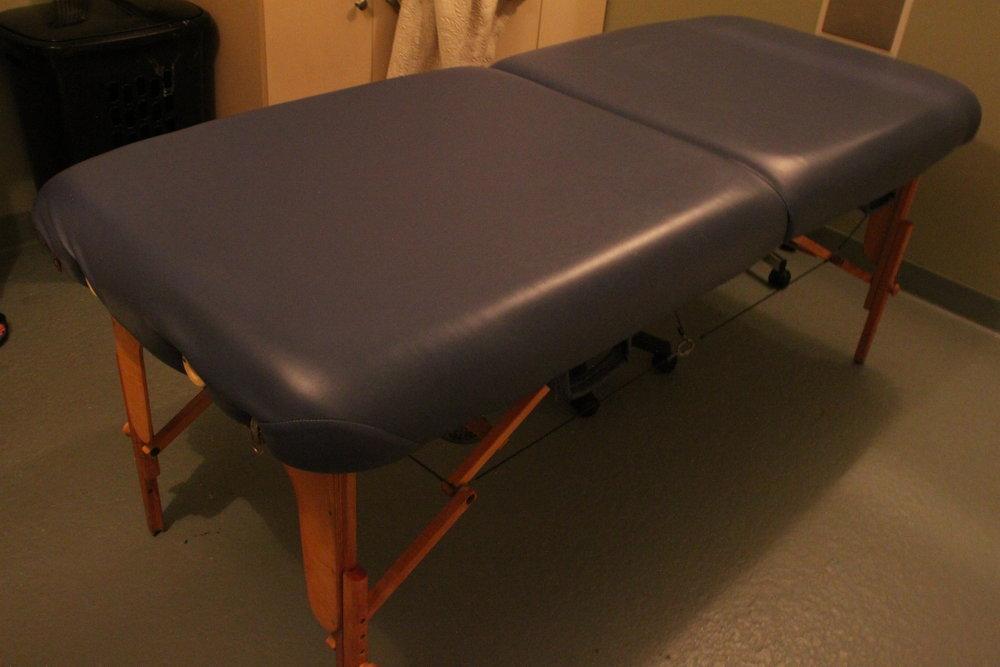 Portable Massage Table $50