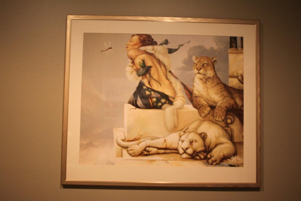 Lions / Lady - $40