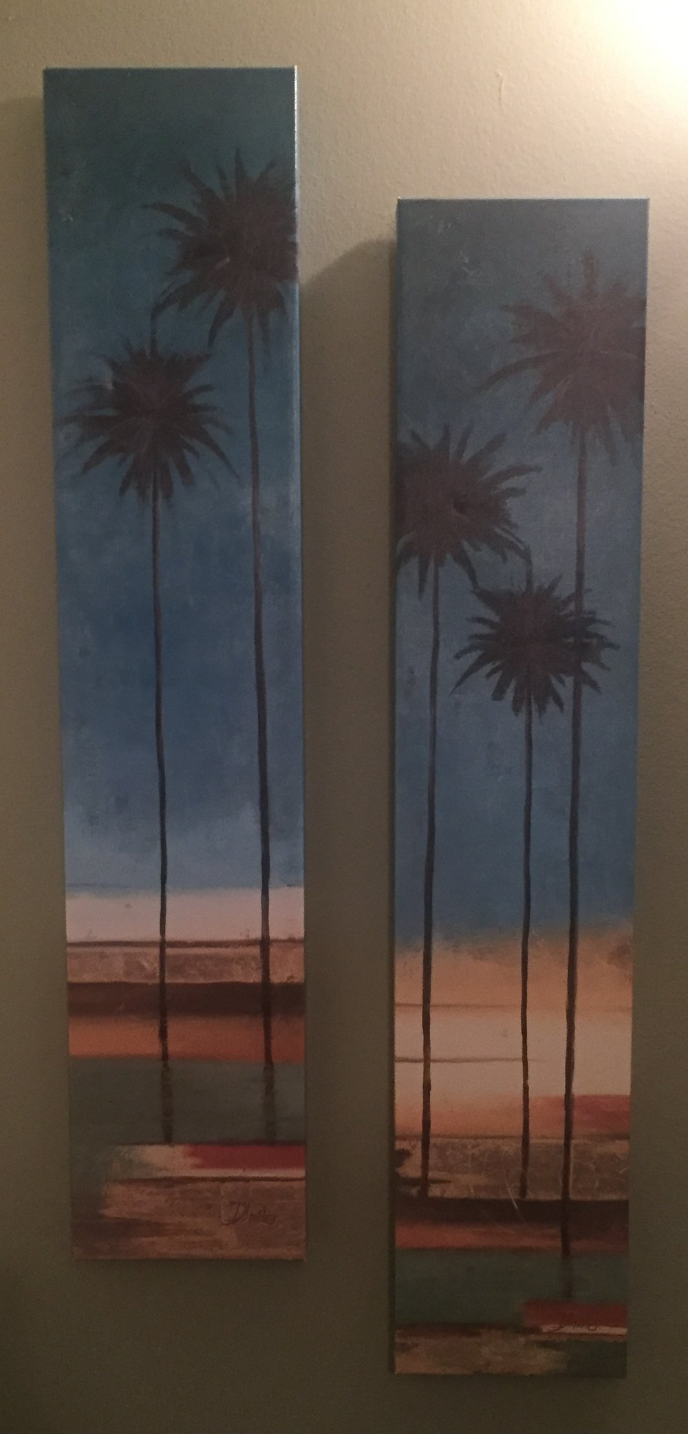Palm Trees - $10 (for both)