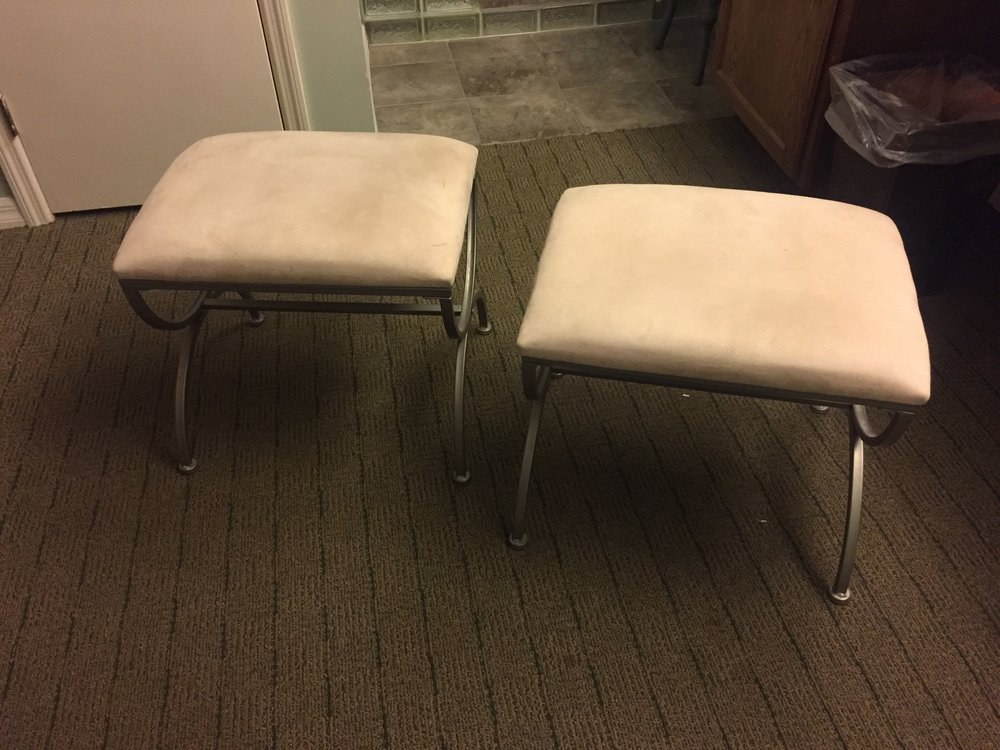 Stools - $15 (each)