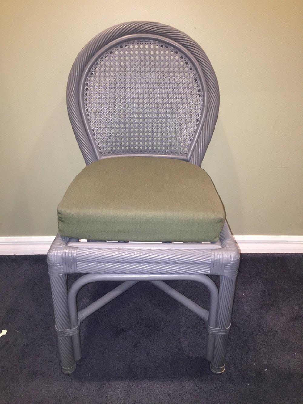 Wicker Side Chairs - $15 (each)